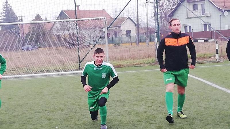 Két edzőmérkőzéssel megkezte a felkészülést a felnőtt csapat